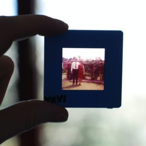 Vintage Photo Slide of Family Photo, Virtual Writing Workshops, Telling Your Story: Micro-Memoirs and Memory Maps