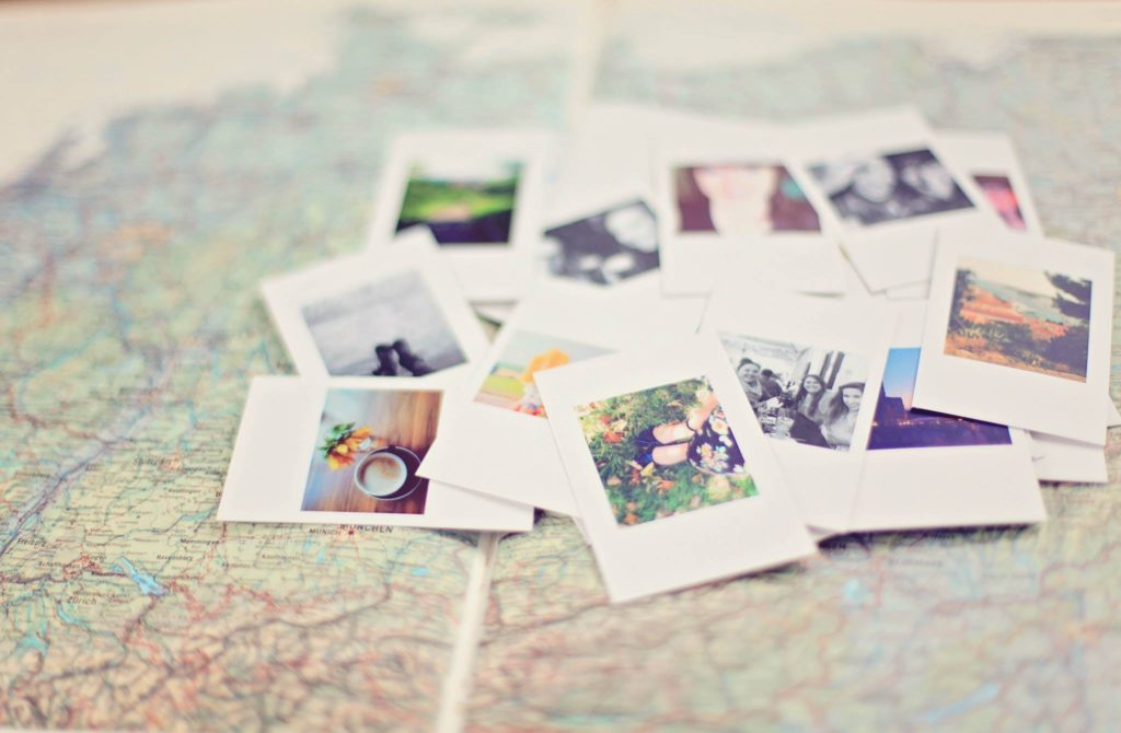 Map and Photos, family story micro memoirs virtual writing workshops