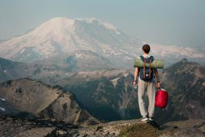 Teen hiking in the mountains, How to Take Your College Admissions Essay to the Next Level: Time Jumps