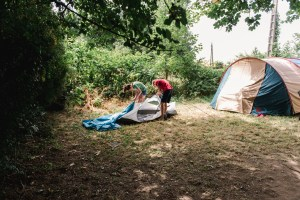 family camping trip, virtual family story writing workshops